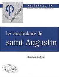 Le vocabulaire de saint Augustin