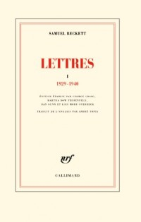 Lettres (Tome 1-1929-1940)