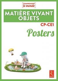 Posters Matière, Vivant, Objets CP-CE1