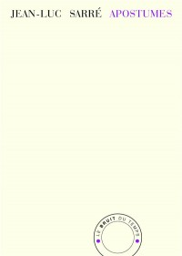 Apostumes : Pages de carnets