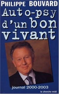 Auto-psy d'un bon vivant : Journal 2002-2003