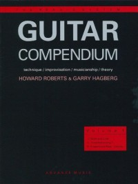 Partitions jazz&blues ADVANCE MUSIC HAGBERG G. - GUITAR COMPENDIUM VOL. 1 - GUITAR Guitare