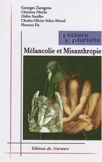 Mélancolie et Misanthropie