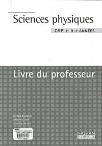 Sciences physiques, CAP (Manuel du professeur)