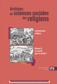 Archives de Sciences Sociales des Religions 175