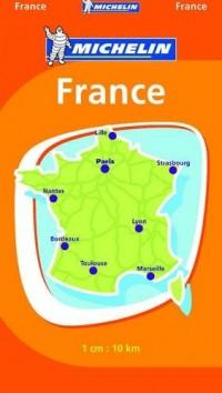 France : 1 cm : 10 km
