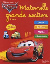 Cars, Maternelle, Grande section : 5-6 ans
