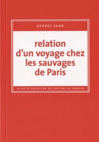 Relation d'un Voyage Chez les Sauvages de Paris