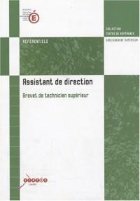Assistant de direction : Référentiel, Brevet de Technicien Supérieur