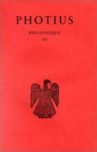 Bibliothèque, tome 8