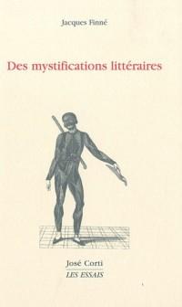 Des mystifications littéraires