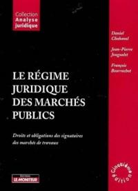Le régime juridique des marchés publics