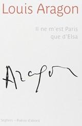 Il ne m'est Paris que d'Elsa [Poche]