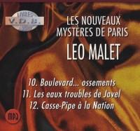LES NOUVEAUX MYSTERES DE PARIS (COFFRET MP3 T10-T11-T12)