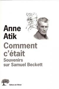 Comment c'était : Souvenirs sur Samuel Beckett