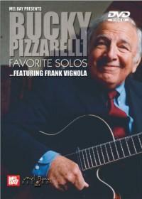 MEL BAY PIZZARELLI JOHN - BUCKY PIZZARELLI FAVORITE SOLOS - GUITAR Méthode et pédagogie Guitare Guitare acoustique