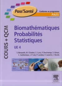 Ue4 - biomathematique - probabilite - statistique (cours et qcm)