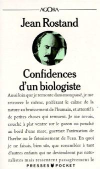 Confidences d'un biologiste