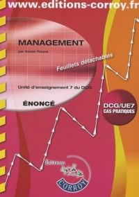 Management DCG 7 : Enoncé