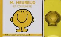 100% Bonne Humeur - M. Heureux et Compagnie - Coffret Livre + Figurine