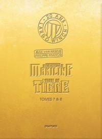 Largo Winch : 20 ans : Tome 7, La forteresse de Makiling ; Tome 8, L'heure du tigre