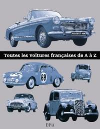 Toutes les voitures françaises de A à Z