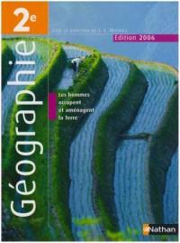 Géographie 2e : Programme 2001