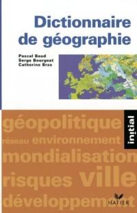 Dictionnaire de geographie