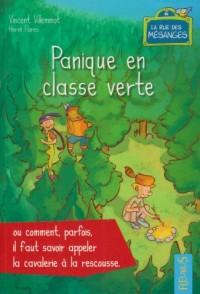 Panique en classe verte