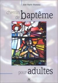 Chemin de baptême pour adultes