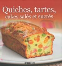 Quiches, tartes, cakes salés et sucrés
