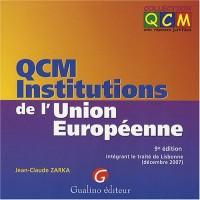 QCM Institutions de l'Union européenne