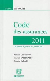Code des assurances 2011 - 2 tomes