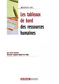 Les tableaux de bord des ressources humaines