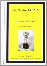 Les pages déchirées - Nouvelle noire illustrée dans son enveloppe timbrée d'artiste
