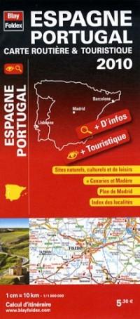 Espagne Portugal, carte routière & touristique