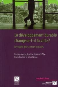 Developpement Durable Changera T Il la Ville