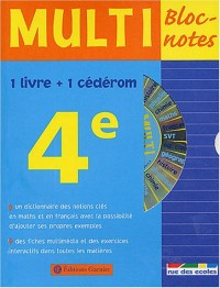 Multi Bloc-notes 4ème (1 CD-Rom inclus)
