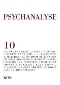Psychanalyse, N° 10, Septembre 2007 :