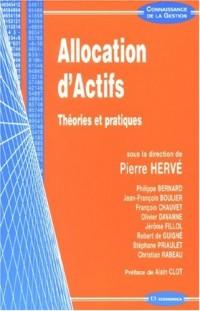 Allocation d'Actifs : Théories et pratiques
