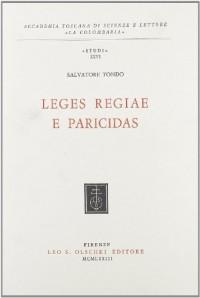 Leges Regiae E Paricidas