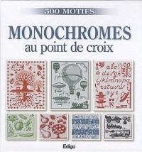 Monochromes au point de croix