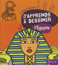 J'apprends à dessiner l'Egypte : Avec un bloc de papier Canson