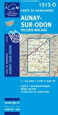 Aunay-sur-Odon / Villers-Bocage GPS: Ign1513o
