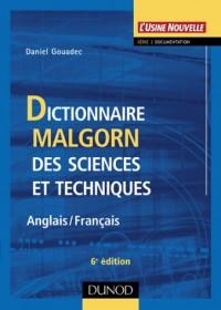 Dictionnaire Malgorn des sciences et techniques (Anglais-Français)