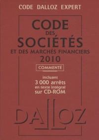 Code des sociétés et des marchés financiers commenté 2010 (1Cédérom)