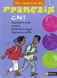 Ma Semaine de Français CM1 Eleve