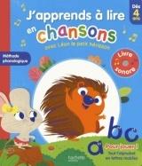 J'apprends à lire en chansons avec Léon le petit hérisson - Dès 4 ans