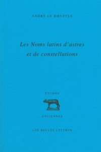 Les noms latins d'astres et de constellations