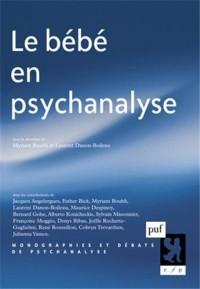 Le bébé en psychanalyse